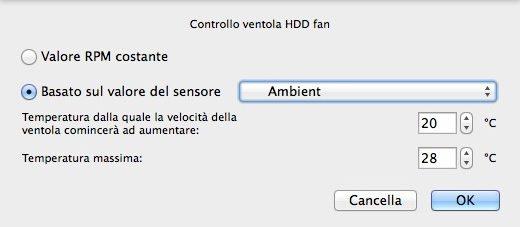 Macs Fan Control - iMac HDD Fan